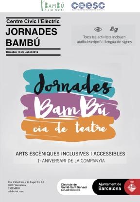 18 jul Jornada Bambú