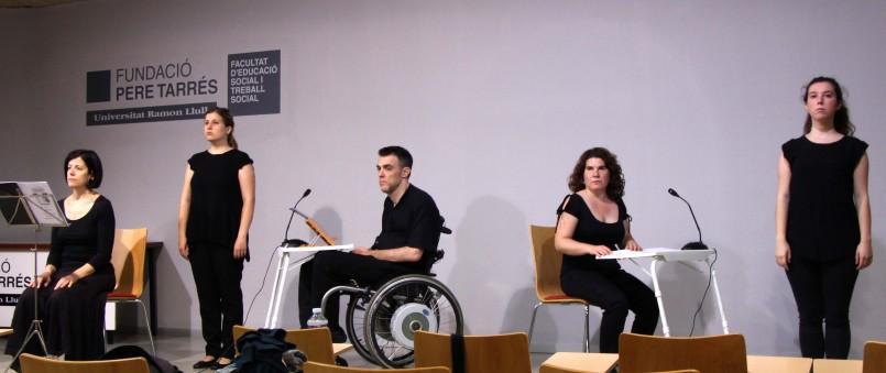 BamBú cia de teatre Acte maltractament